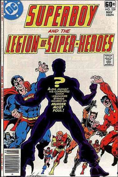 Superboy and the Legion of Super-Heroes 239-A by DC