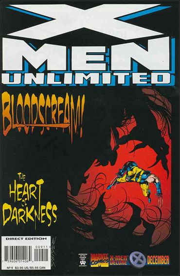 X-Men Unlimited (1993) 9-A by Marvel