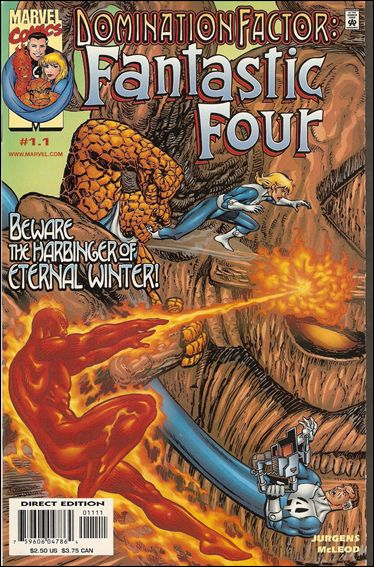 Domination Factor: Fantastic Four 1.1-A by Marvel