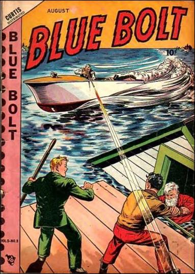 Blue Bolt (1948) 3-A by Premium
