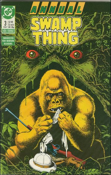Swamp Thing Annual (1982) 3-A by DC