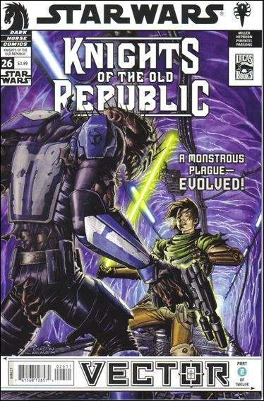 Star Wars: Knights of the Old Republic 26-A by Dark Horse