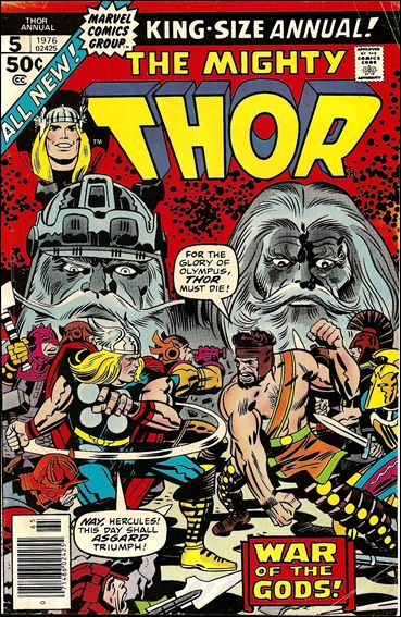 Thor Annual (1966) 5-A by Marvel