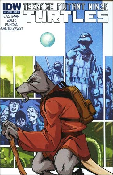 Teenage Mutant Ninja Turtles (2011) 5-B by IDW