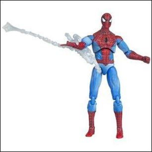 Marvel Universe (Series 1) Spider-Man (Red & Blue Costume) - Loose