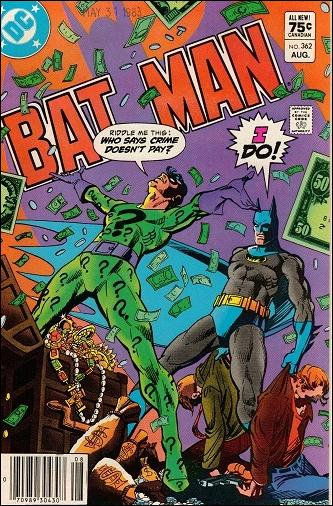 Batman (1940) 362-B by DC