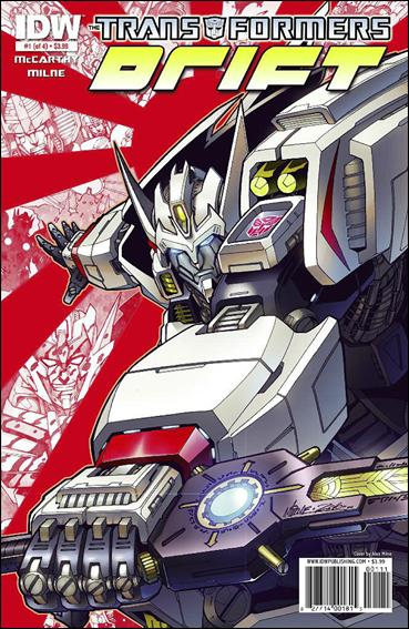 Transformers: Drift 1-A by IDW