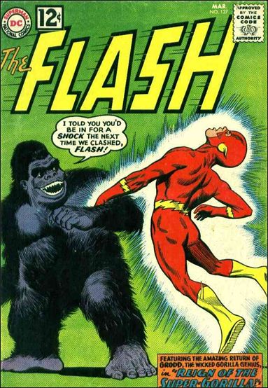 Flash (1959) 127-A by DC