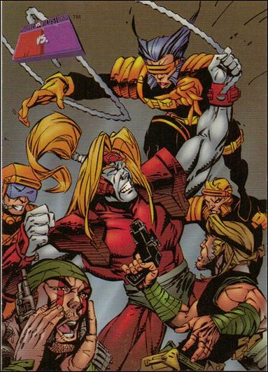 Marvel vs WildStorm (Base Set) 47-A by Fleer/SkyBox