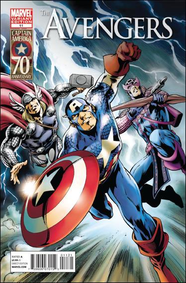Avengers (2010) 11-B by Marvel