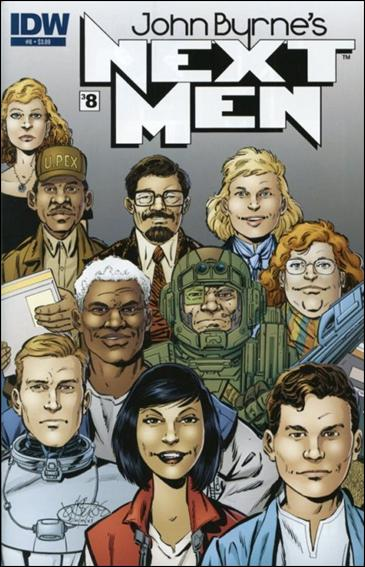 John Byrne's Next Men (2010) 8-A by IDW