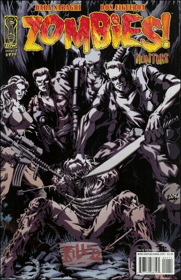 Zombies!: Hunters 1-A by IDW