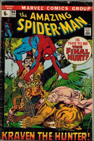 Amazing Spider-Man (1963) 104-B by Marvel