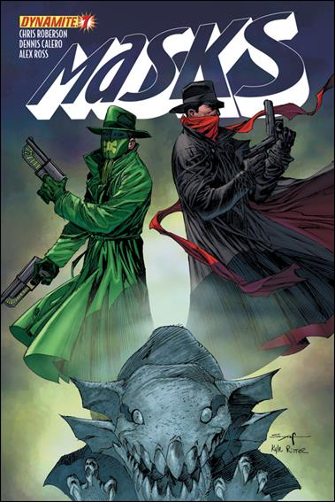 Masks 7-B by Dynamite Entertainment