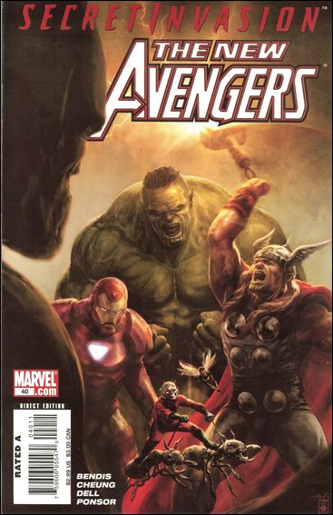 New Avengers (2005) 40-A by Marvel
