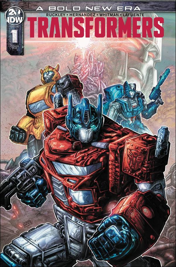 Transformers (2019) 1-D by IDW