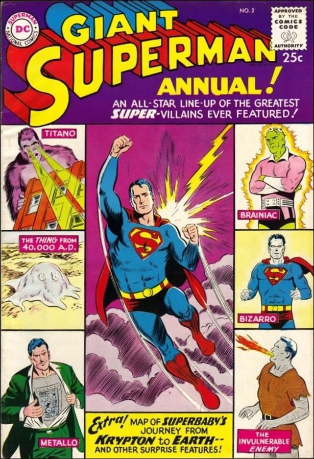 Superman Annual (1960) 2-A by DC