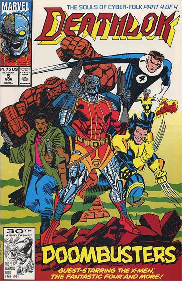 Deathlok (1991) 5-A by Marvel