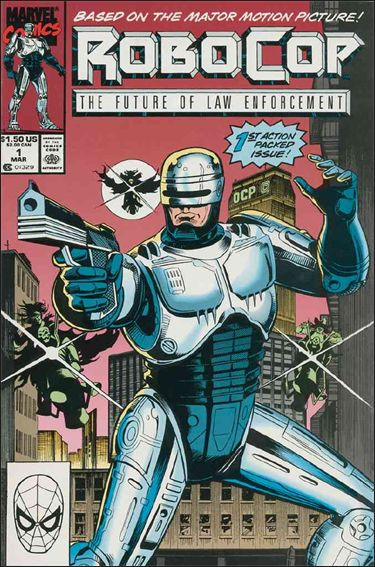Robocop (1990) 1-A by Marvel