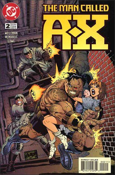Man Called A-X (1997) 2-A by DC