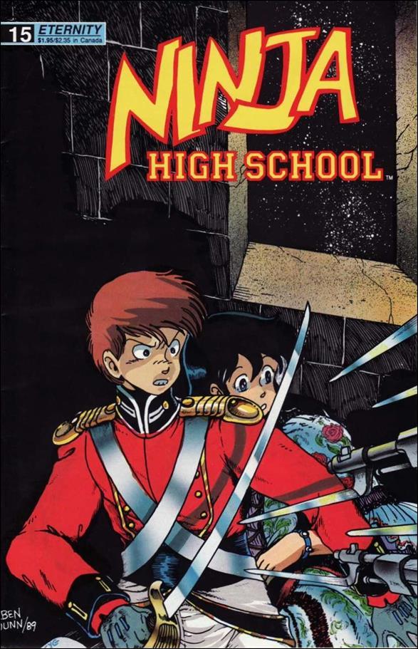 Ninja High School 15-A by Antarctic Press