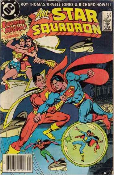 All-Star Squadron 37-A by DC