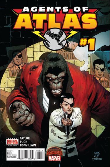 Secret Wars: Agents of Atlas 1-A by Marvel