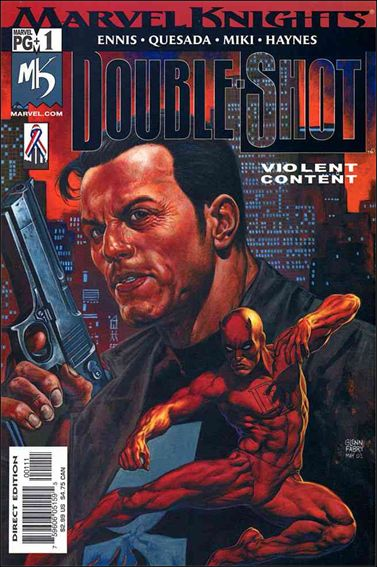 Marvel Knights Double-Shot 1-A by Marvel