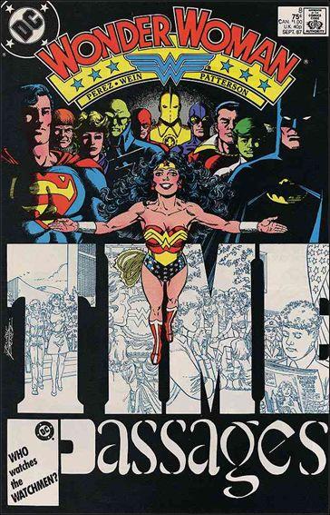 Wonder Woman (1987) 8-A by DC