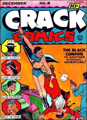 Crack Comics 8-A by Quality