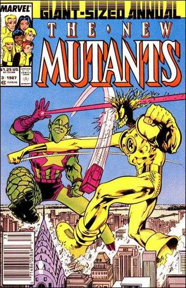 New Mutants Annual 3-A by Marvel