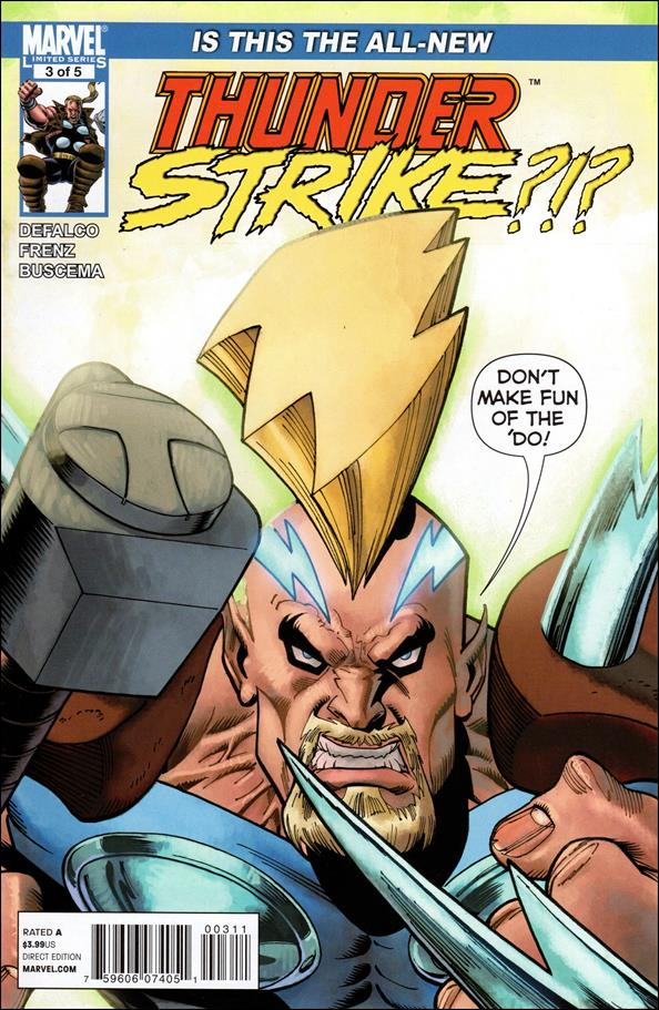 Thunderstrike (2011) 3-A by Marvel