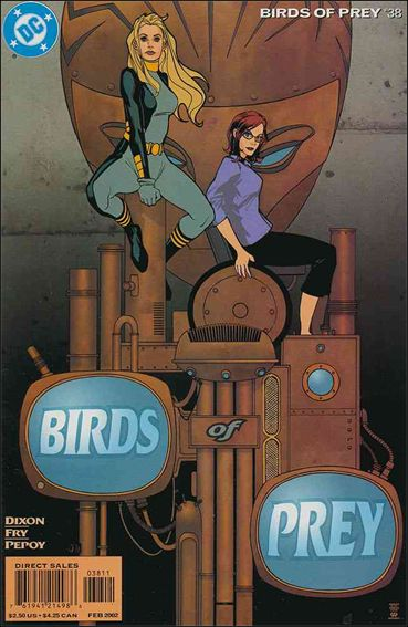 Birds of Prey (1999) 38-A by DC
