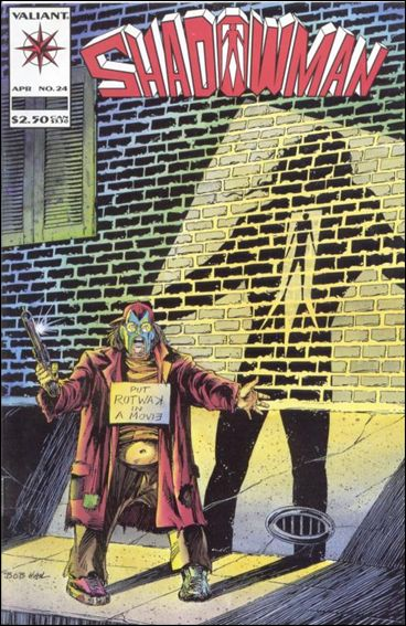 Shadowman (1992) 24-A by Valiant