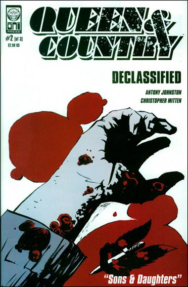 Queen & Country: Declassified (2005/06) 2-A by Oni Press