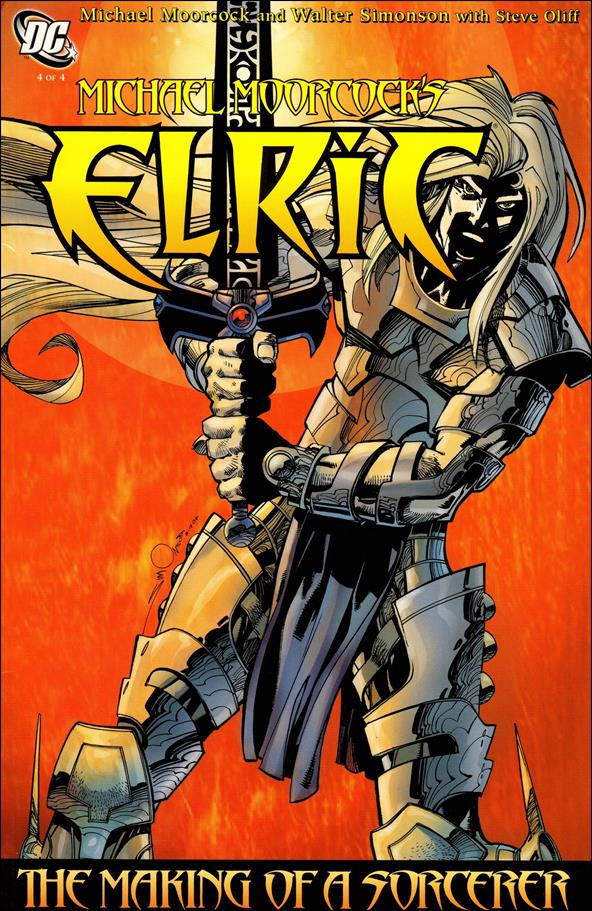 Michael Moorcock's Elric: The Making of a Sorcerer 4-A by DC