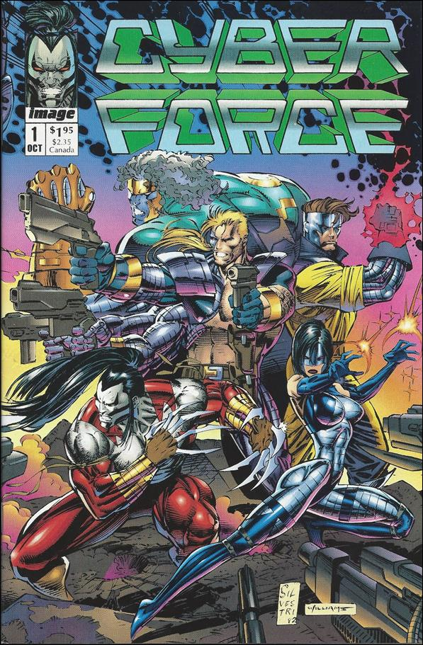 Cyberforce (1992) 1-A by Image