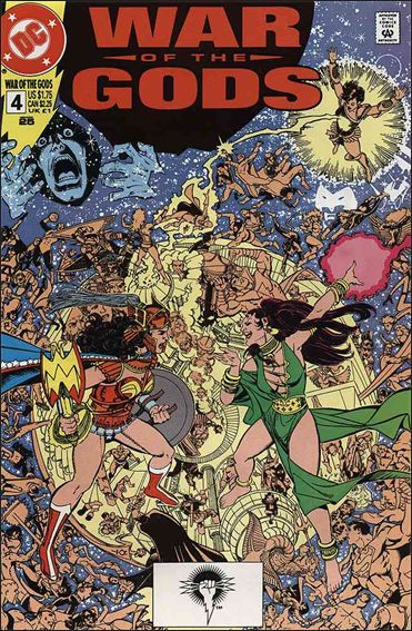 War of the Gods 4-A by DC