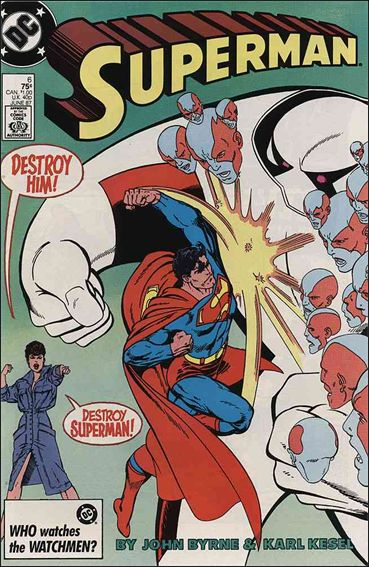 Superman (1987) 6-A by DC