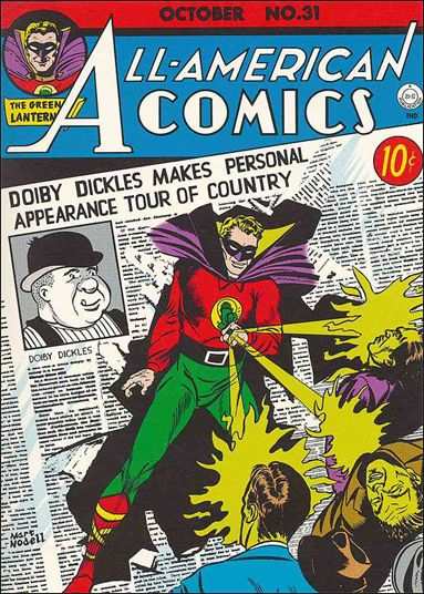 All-American Comics (1939) 31-A by DC