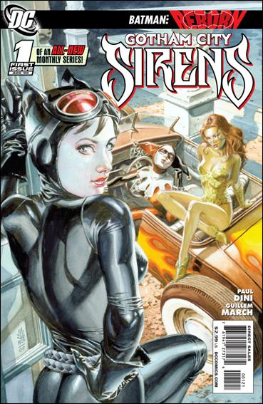 Gotham City Sirens 1-B by DC