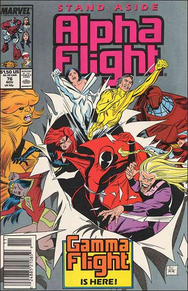 Alpha Flight (1983) 76-A by Marvel