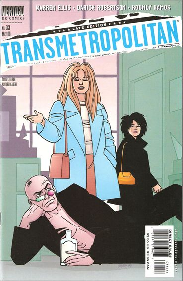 Transmetropolitan 33-A by Vertigo