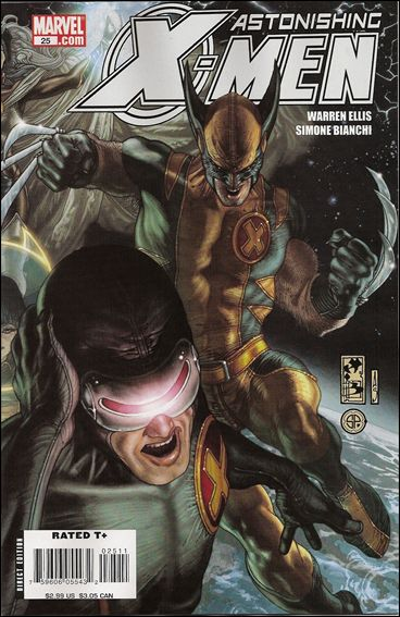 Astonishing X-Men (2004) 25-A by Marvel