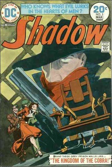Shadow (1973) 3-A by DC