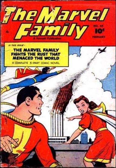 Marvel Family 44-A by Fawcett