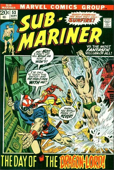 Sub-Mariner (1968) 53-A by Marvel