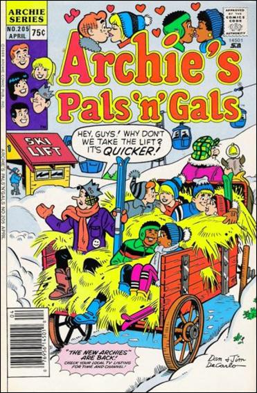 Archie's Pals 'n Gals 205-A by Archie