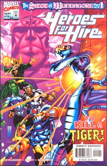 Heroes for Hire (1997) 15-A by Marvel