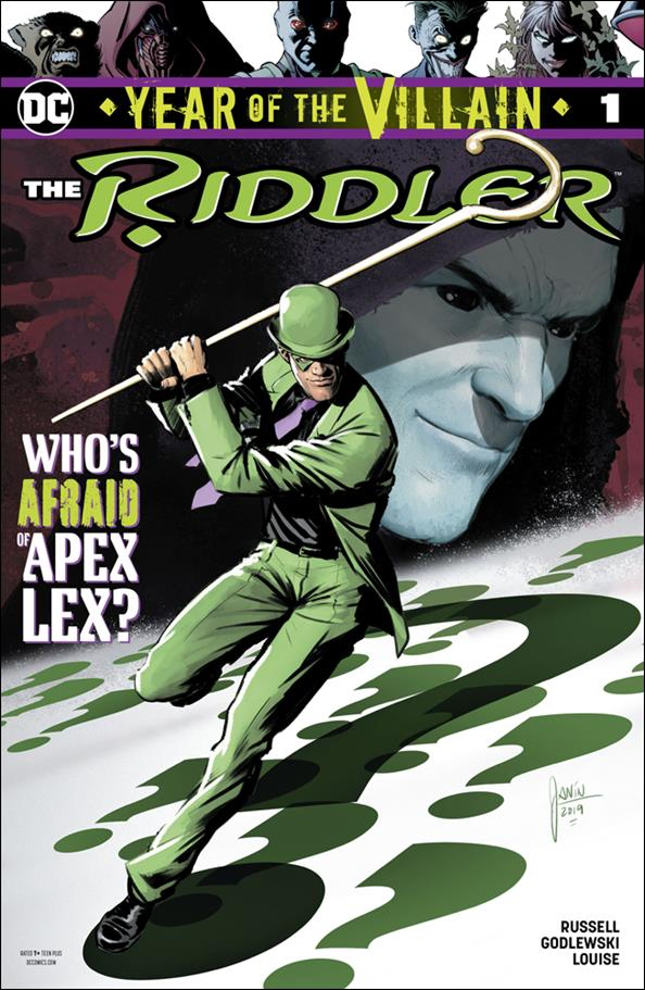 Riddler: Year of the Villain 1-A by DC